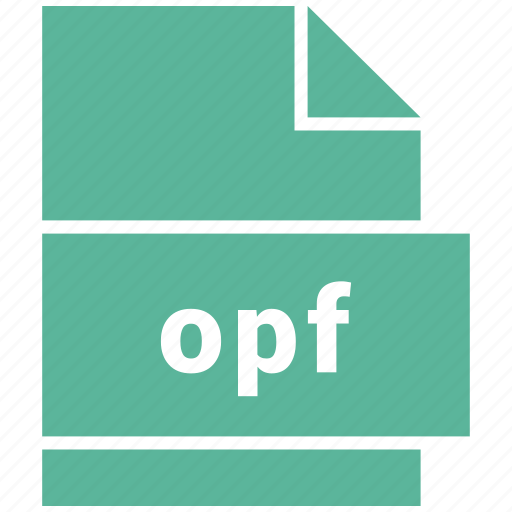ebook file format, file format, opf icon