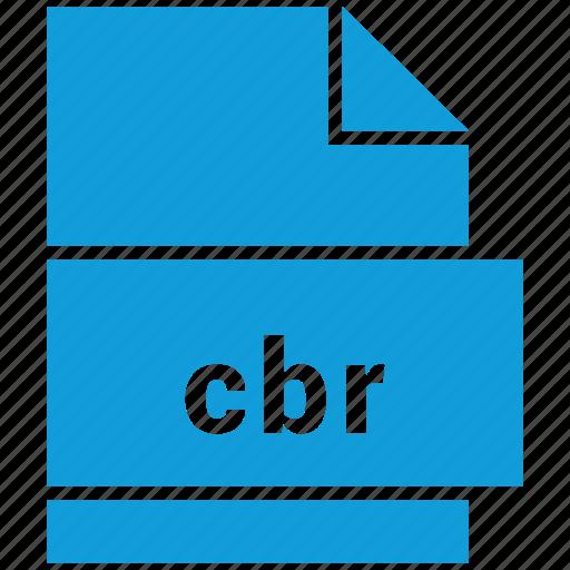 cbr, ebook file format, file format icon