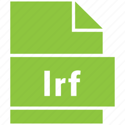 ebook file format, file format, lrf icon
