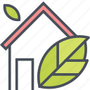 energy, house, nature icon