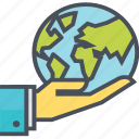 earth, global, planet, save icon