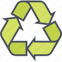 eco, green, nature, recycling icon