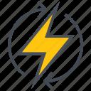 charging, electric, energy, renewable icon