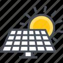 energy, panal, renewable, solar icon
