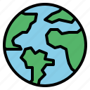 earth, global, green, world icon