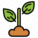 eco, leaves, natural, plant icon