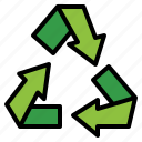 can, garbage, recycle, trash icon