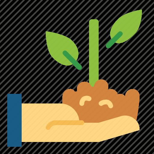 bank, growth, money, planting icon