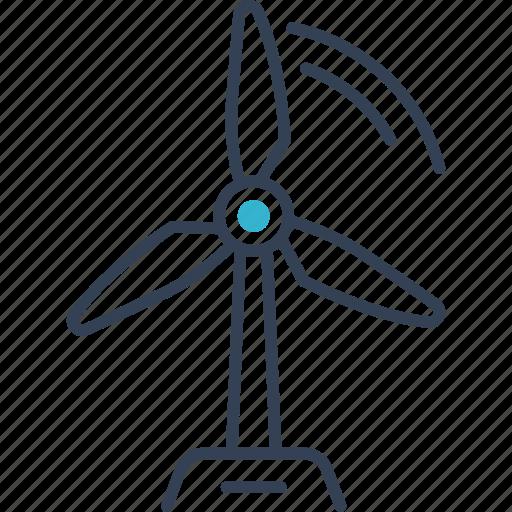 bio, blower, eco icon