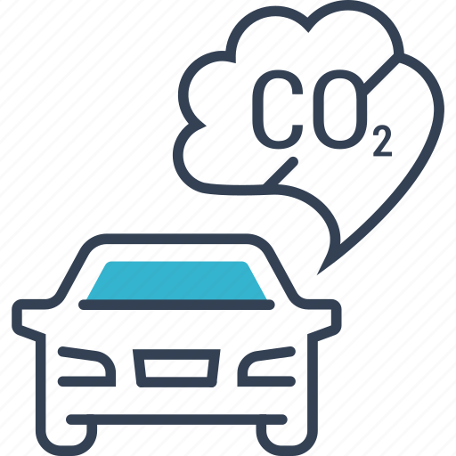 bio, car, eco, oxygen icon