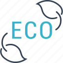 bio, eco, sheet icon
