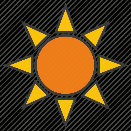 energy, power, solar, sun icon
