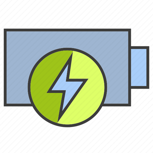 battery, electricity, guardar, save icon