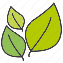 eco, go green, leaf icon