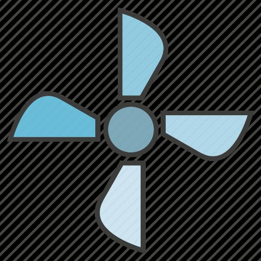 clean energy, energy, fan, turbine, ventilator, wind icon