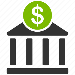 bank, cash, dollar, finance, financial business, money, payment icon