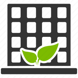 agriculture business, building, company office, eco house, home, hotel, real estate icon