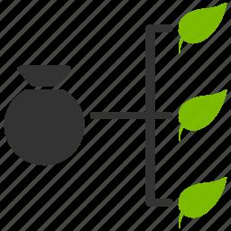 analysis, analytics, diagram, harvest stats, infographic, optimization, presentation icon