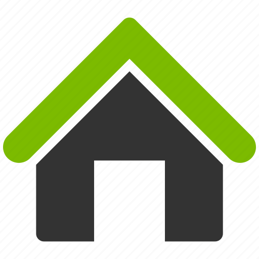 building, company, eco office, home, house, real estate, residence icon