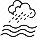 resourse, water, cloud, drop, ocean, rain, sea