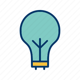 eco bulb, light, light bulb icon
