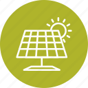 energy, power, solar energy, solar panel icon