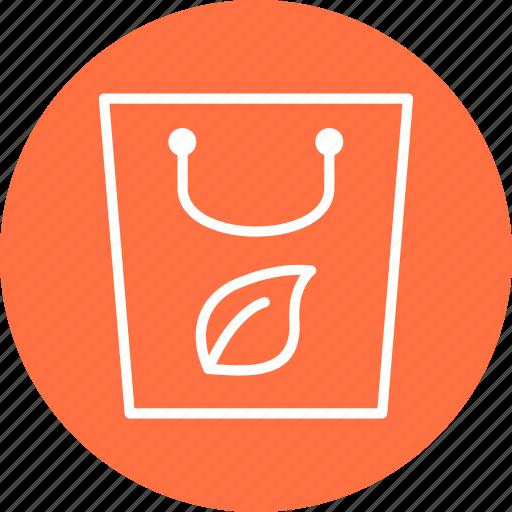 eco bag, recycle, reusable, tote bag icon