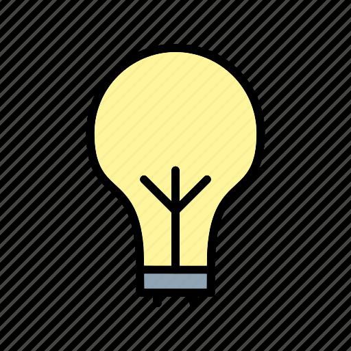 bulb, eco bulb, light, light bulb icon