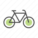 bicycle, eco, environment, lifestyle, sport, transportation, travel icon