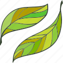 environment, green, leaf, plant icon