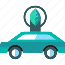 car, eco, transport, vehicle icon