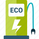 eco, ecology, electric, electricity, energy icon