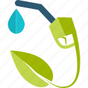 eco, ecology, fuel, green, nature icon