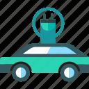 car, ecology, electric, transport, transportation icon