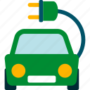 electric, transport, vehicle, vehicule icon
