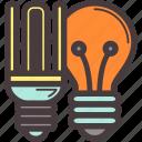 bulb, economic, lamp, light icon