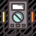 amps, electrical, metrix, volt, watt icon