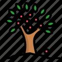 abundance, agriculture, fruitful, plentifully, tree icon