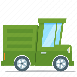 eco friendly, environment, truck, vehicle icon