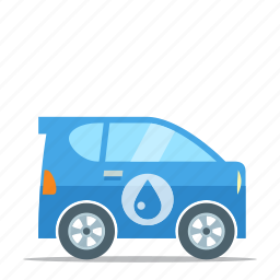 car, eco friendly, environment, hydrogen icon