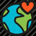 earth, love, ecology, global, globe, nature, world