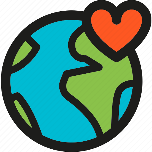 earth, ecology, global, globe, love, nature, world icon