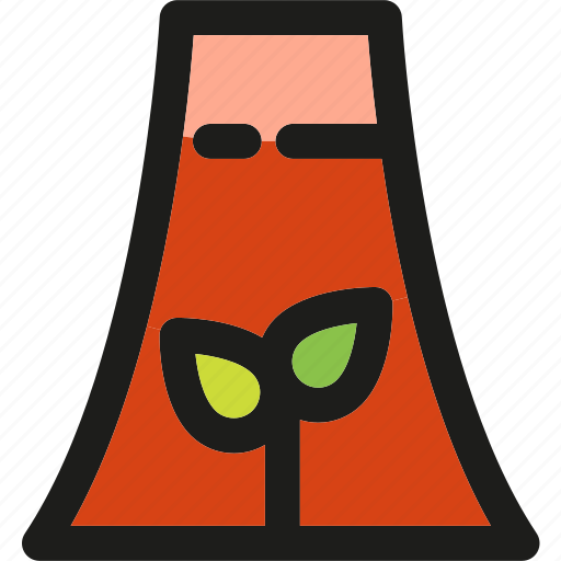 Nuclear, plany, ecology, enviroment, green, nature, power icon - Download on Iconfinder