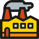 eco, ecology, enviroment, factory, green, nature, power icon