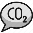 pollution, co2, message