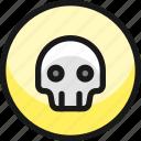 pollution, skull