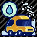 car, ecology, environmental, natural, vehicle, water icon
