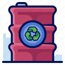 container, ecology, environmental, natural, recycle icon