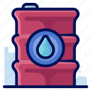 container, ecology, environmental, natural, water icon