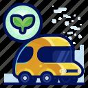car, ecology, environmental, green, natural, vehicle icon
